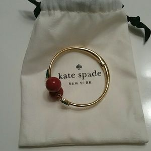 Kate Spade cherry bangle